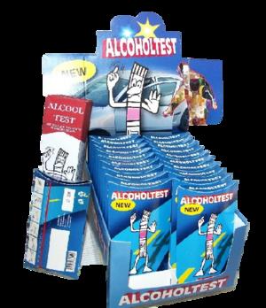 Alcooltest monouso senza cromo